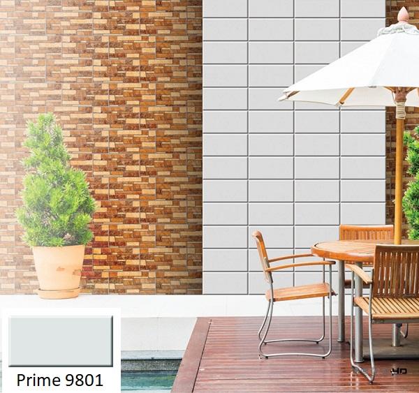 Gạch ốp ngoại thất Prime 9801 chú trọng đến chất lượng để đảm bảo công năng sử dụng lâu dài