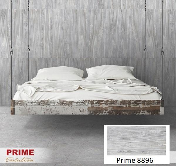 Mẫu gạch ốp tường giả gỗ Prime 8896 với tông màu xám trung tính đẹp tinh tế
