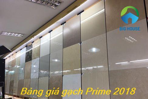 Bảng giá gạch Prime 2018 – Chiết khấu CAO, miễn phí vận chuyển