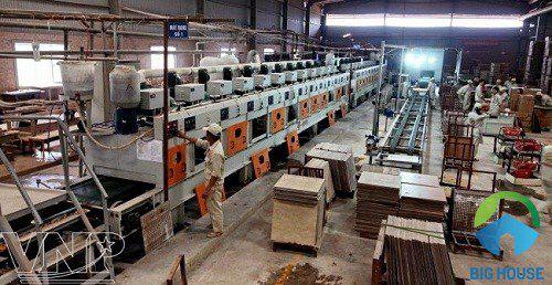 Nhà máy gạch prime Vĩnh Phúc: Quy mô và những Ưu thế vượt trội nhất