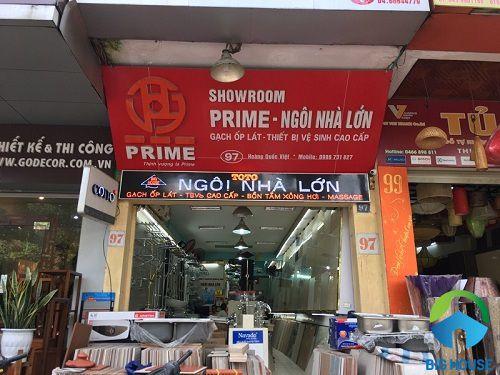 Showroom gạch Prime tại Hà Nội uy tín nhất
