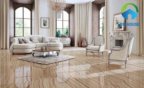 cách chọn gạch lát nền phòng khách