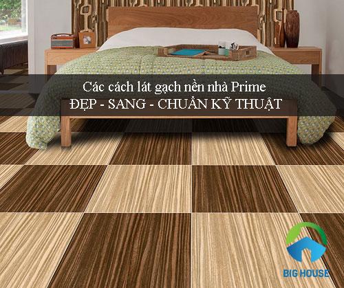 Cách lát gạch nền nhà đẹp cho gạch giả gỗ, giả đá Ấn tượng – Bắt mắt