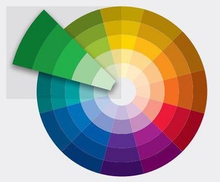 cách phối màu sơn và gạch lát nền