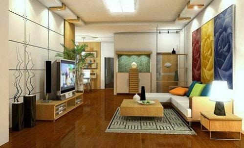 chọn mẫu gạch lát nền phòng khách đẹp
