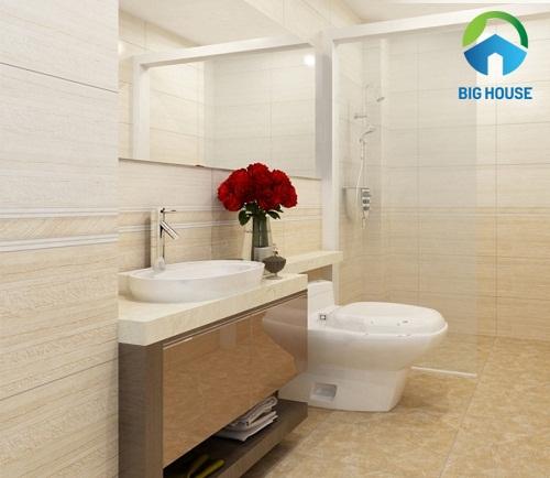 gạch ốp tường nhà tắm đẹp