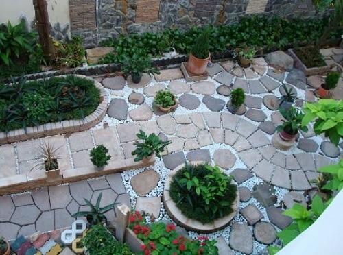 gạch sân vườn đẹp