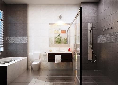 Mẫu gạch lát nền nhà vệ sinh Primeđẹp, chống trơn trượt, an toàn