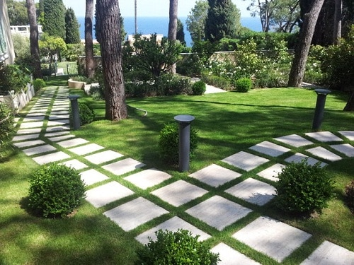 mẫu gạch lát sân vườn đẹp nhất