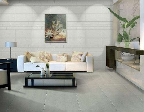 Có nên ốp gạch tường phòng khách không? Tư vấn mẫu gạch phù hợp