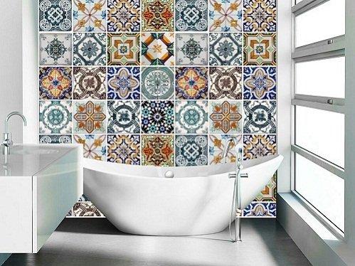 Gạch hoa ốp tường theo từng phong cách riêng biệt
