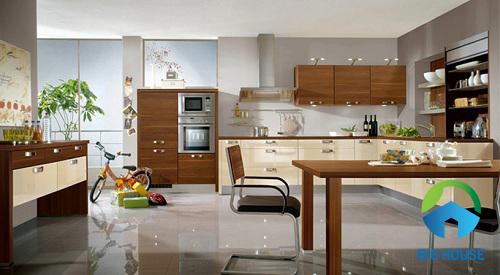 gạch lát nền nhà bếp