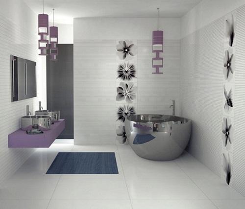 Gợi ý mẫu gạch ốp lát nhà tắm Đẹp và Lôi cuốn cho không gian Hiện đại