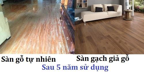 Chuyên gia thiết kế tư vấn: Có nên lát gạch giả gỗ hay không?