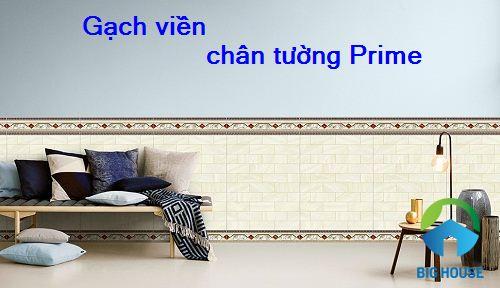 Cách dùng gạch viền chân tường Prime Hiệu quả và Top mẫu gạch Đẹp