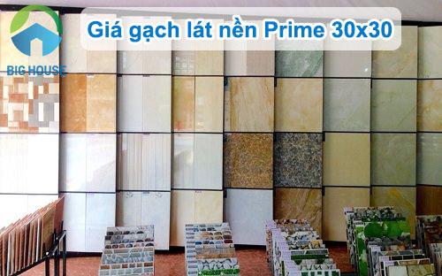 Báo giá gạch lát nền Prime 30×30 chiết khấu SỐC – Số lượng có hạn