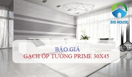 Bảng giá gạch ốp tường Prime 30×45 tại Big House