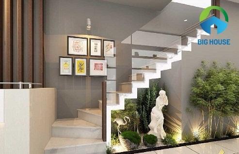 các mẫu thiết kế cầu thang nhà ống
