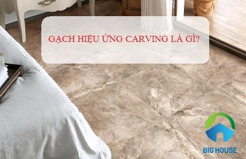 Gạch bề mặt Carving là gì? Liệu nó có dễ dàng vệ sinh