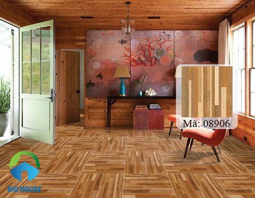 các mẫu gạch lát nền 80x80 vân gỗ