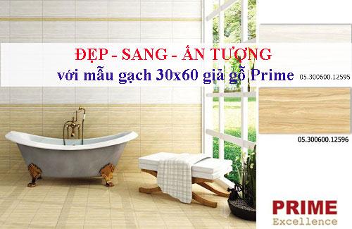 TOP mẫu gạch 30×60 giả gỗ Prime ĐẸP – SANG – ẤN TƯỢNG kèm bảng giá