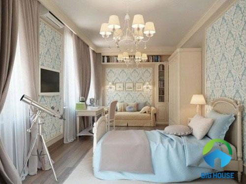 gạch ốp tường phòng ngủ prime