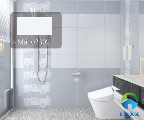 mẫu gạch ốp tường phòng tắm nhỏ