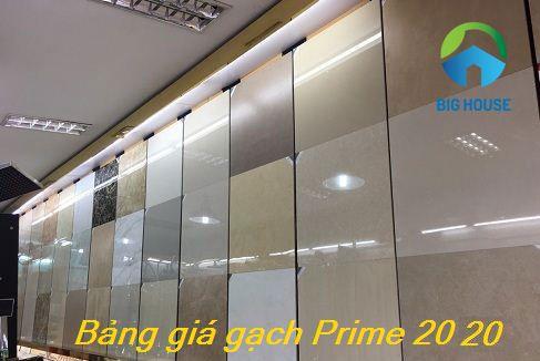 Báo giá gạch ốp lát Prime 2020: 40×40, 60×60, 80×80, 30×60…