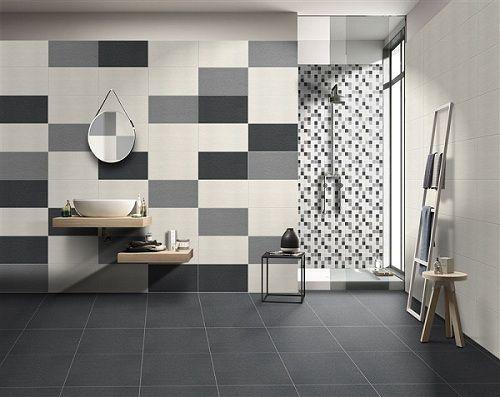 Mẫu gạch ốp tường mosaic cho nhà tắm