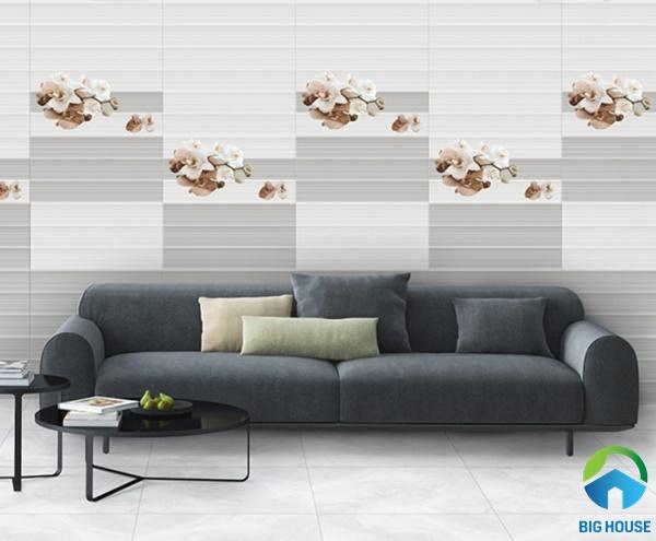 Sử dụng 3 mẫu gạch ốp tường theo phong cách tự do đẹp mắt, ấn tượng
