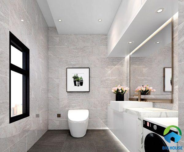 Chọn mẫu gạch ốp nhà tắm phù hợp mang lại sự sang trọng