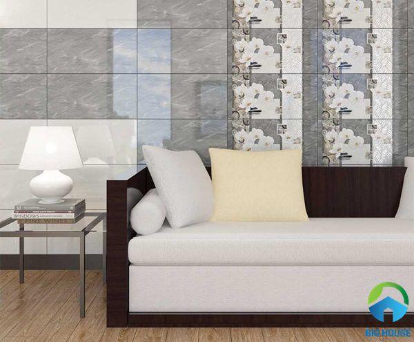 Phòng khách sử dụng bộ đậm điểm nhạt theo phong cách mới ấn tượng