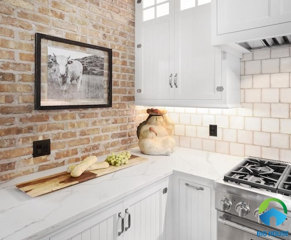 gạch ốp tường nhà bếp ấn tượng
