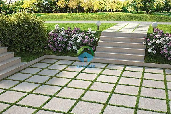 Cách lát gạch sân vườn Đơn giản nhất cho người chưa có kinh nghiệm