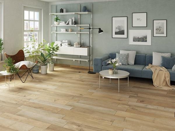 cách phối màu sơn và gạch lát sàn