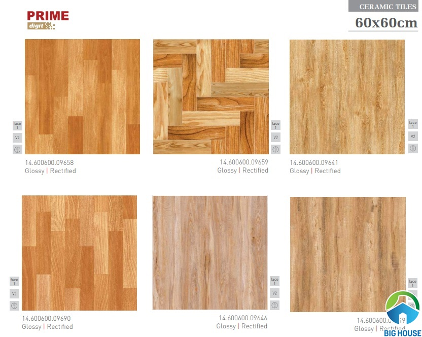 Trọn bộ Catalogue gạch ceramic Prime, Đồng Tâm, Mikado mới nhất 2019