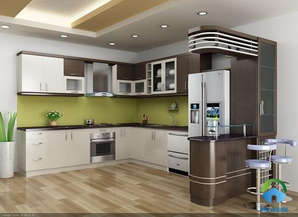 chọn gạch lát nền phòng bếp