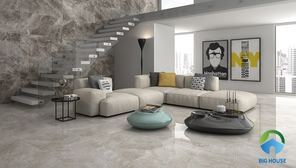 chọn gạch lát nền phòng khách