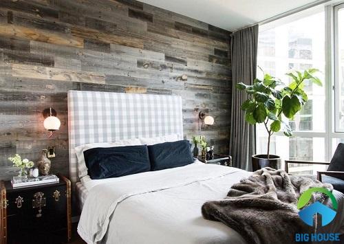 có nên ốp gạch tường phòng ngủ