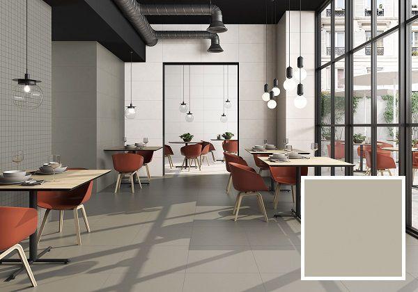 Gạch lát nền 45x45 với gam màu trầm phù hợp với những không gian rộng