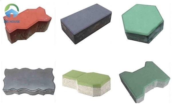 Cùng Big House tìm hiểu các dòng gạch block vỉa hè thông dụng nhất trên thị trường