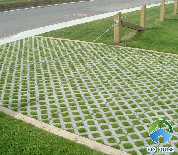 Gạch block trồng cỏ 3 lỗ