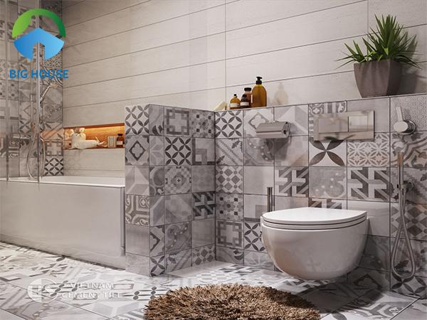 gạch bông trang trí nhà vệ sinh 3