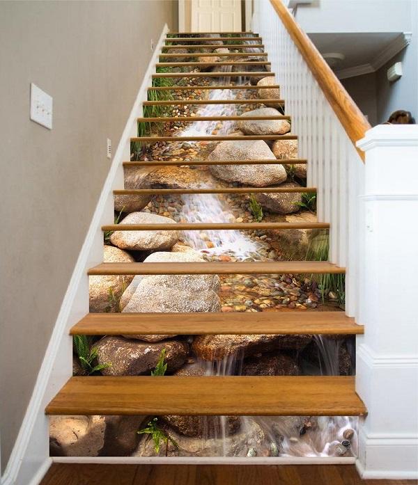gạch cầu thang 3d