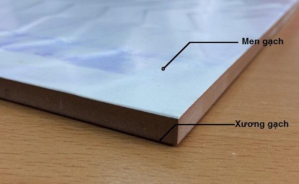 Gạch ceramic được làm từ 70% đất sét, 30% phụ gia
