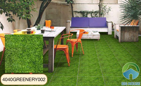 Gạch cỏ 40x40 Đồng Tâm 4040GREENERY002