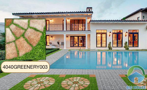 Gạch cỏ 40x40 Đồng Tâm 4040GREENERY003