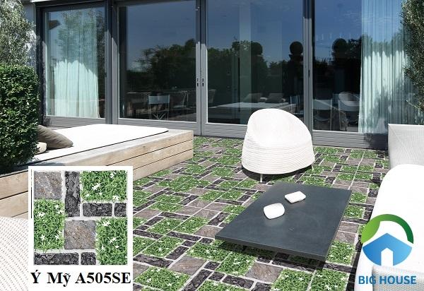 Gạch Ý Mỹ A505SE thuộc top các mẫu gạch cỏ bán chạy nhất hiện nay