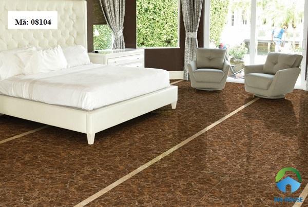 gạch giả đá lát nền phòng ngủ