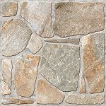 Gạch giả đá với bề mặt định hình giúp chốn trơn vượt trội